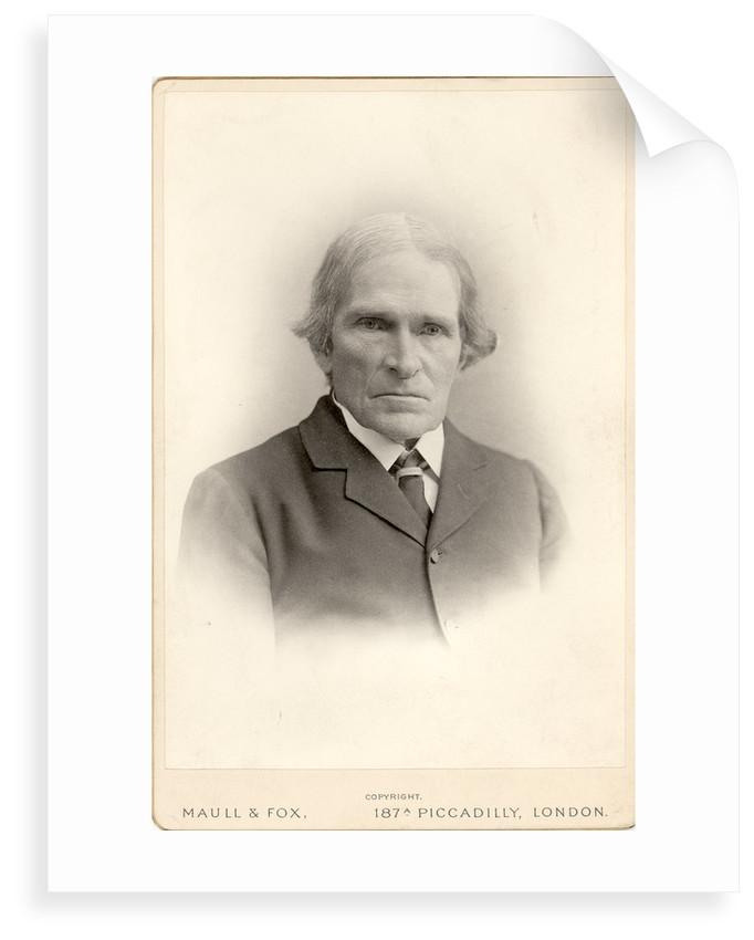 Portrait of John Scott Burdon-Sanderson (1828-1905) by Maull & Fox