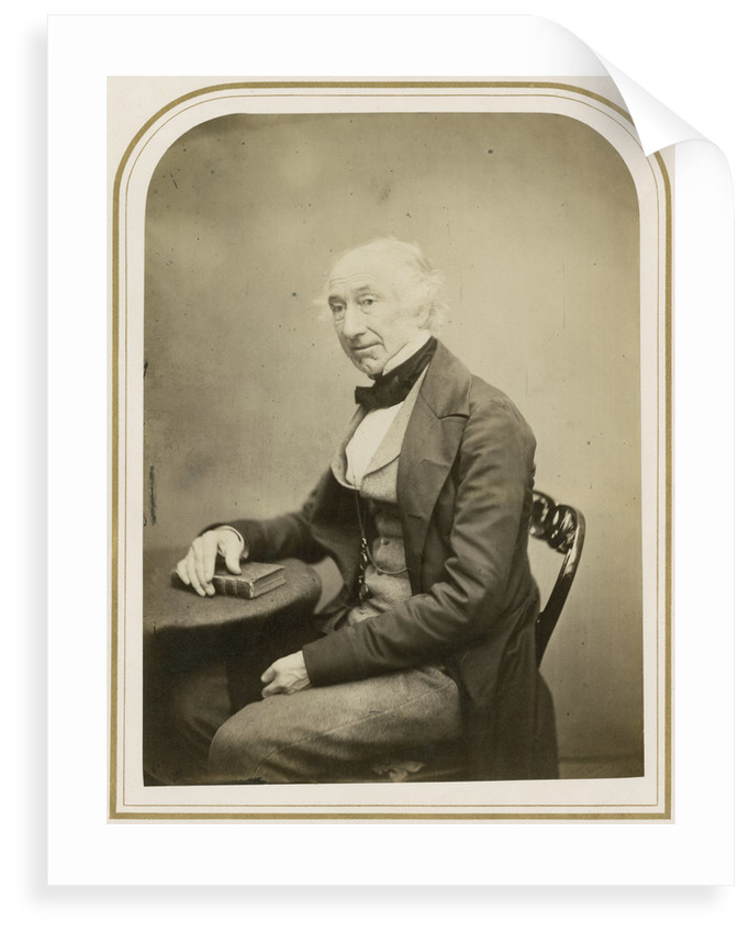 Portrait of William Jackson Hooker (1785-1865) by Maull & Polyblank