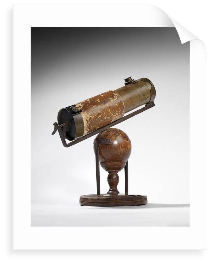 Isaac Newton's reflecting telescope by Isaac Newton