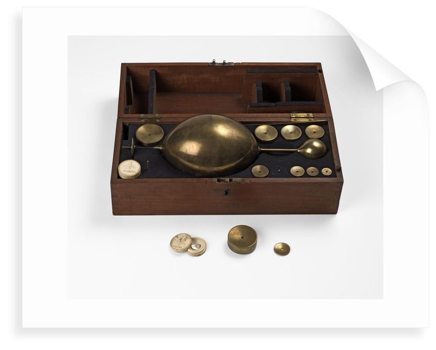 Robert Bate's saccharometer by Robert Bate