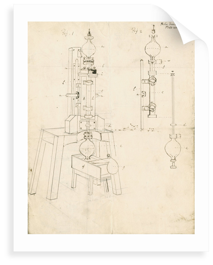New condenser and air pump by Gilbert Austin