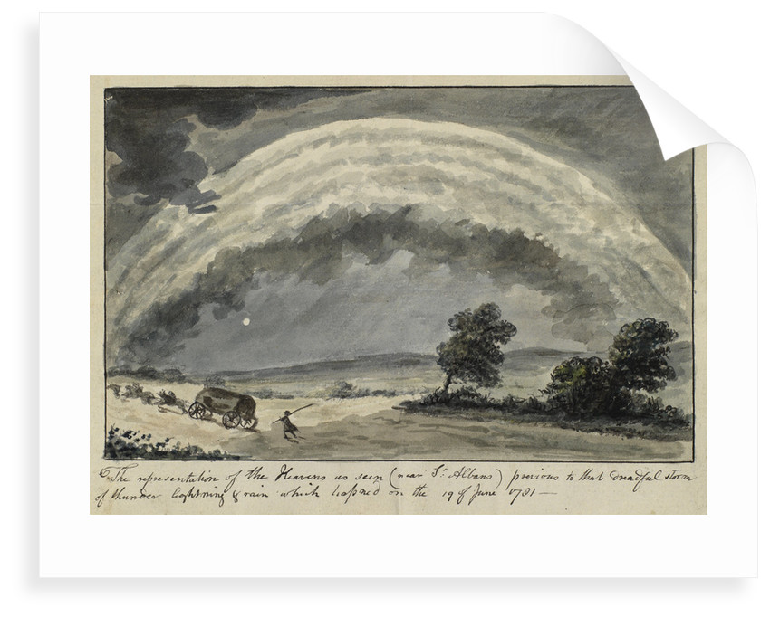 Thunderstorm near St Albans, Hertfordshire by Anonymous