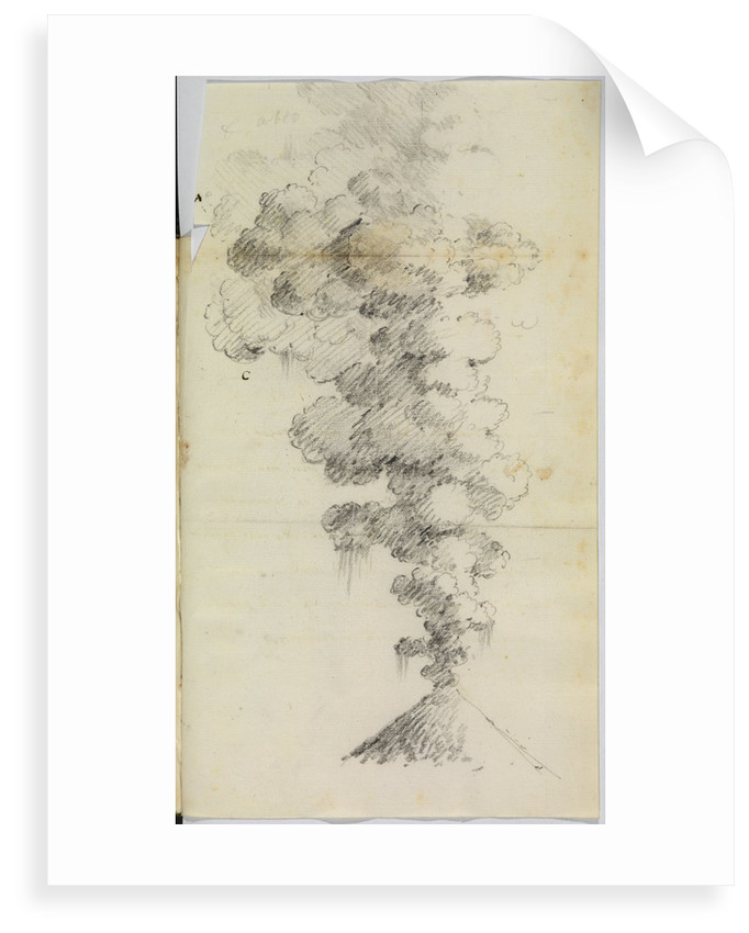 'Vesuvius erupting' by Antonio Piaggio