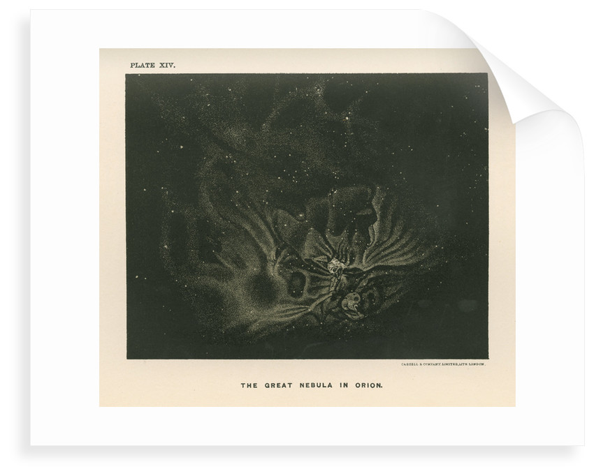 'The great nebula in Orion' by Cassell & Co