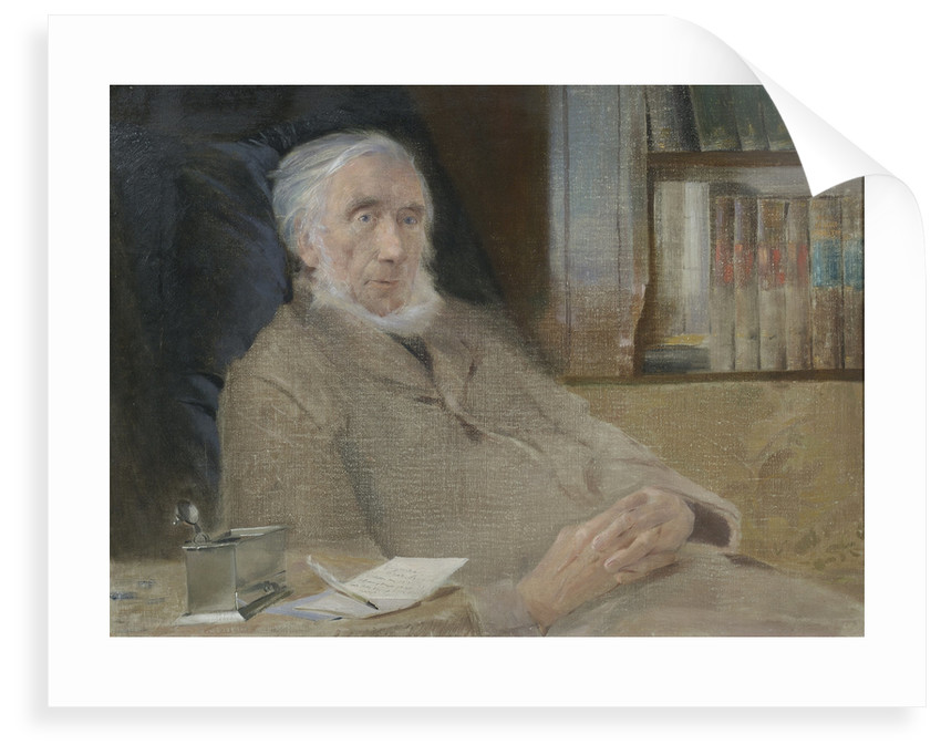 Portrait of John Tyndall (1820-1893) by John McLure Hamilton