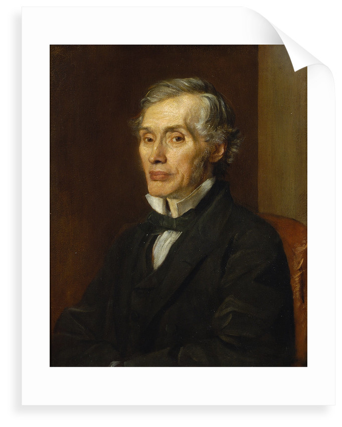 Portrait of Thomas Graham (1805-1869) by George Frederick Watts