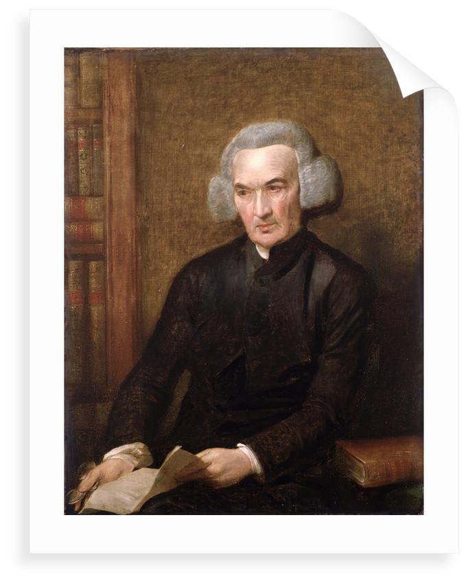 Portrait of Richard Price (1723-1791) by Benjamin West