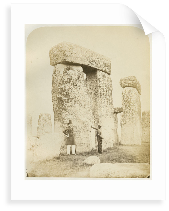 'Stonehenge. Trilithons (B and C) from the South West' by Henry James