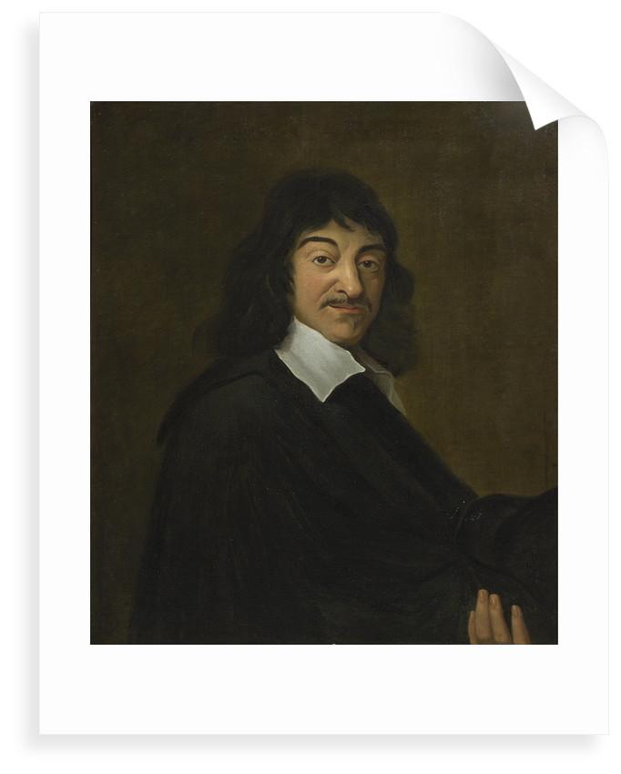 Portrait of Rene Descartes (1596-1650) by unknown