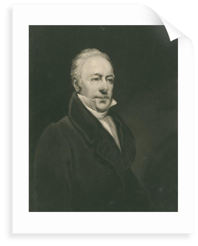 Portrait of Joshua Brookes (1761-1833) by William Ward