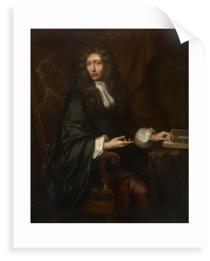 Portrait of Robert Boyle (1627-1691) by Johann Kerseboom