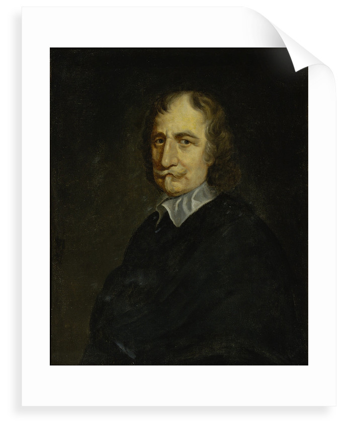 Portrait of Thomas Hobbes (1588-1679) by William Dobson