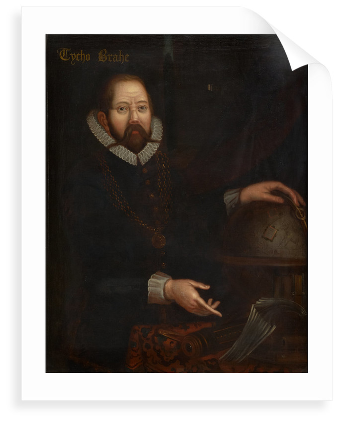 Portrait of Tycho Brahe (1546-1601) by unknown