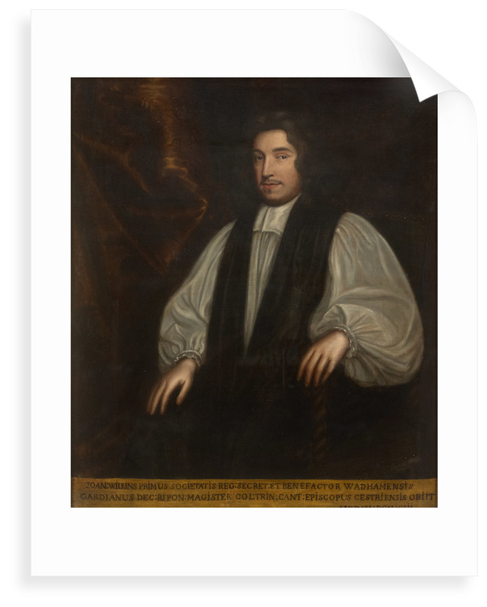 Portrait of John Wilkins (1614-1672) by Mary Beale