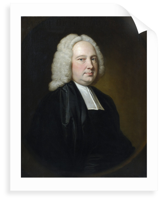 Portrait of James Bradley (1692-1762) by Thomas Hudson