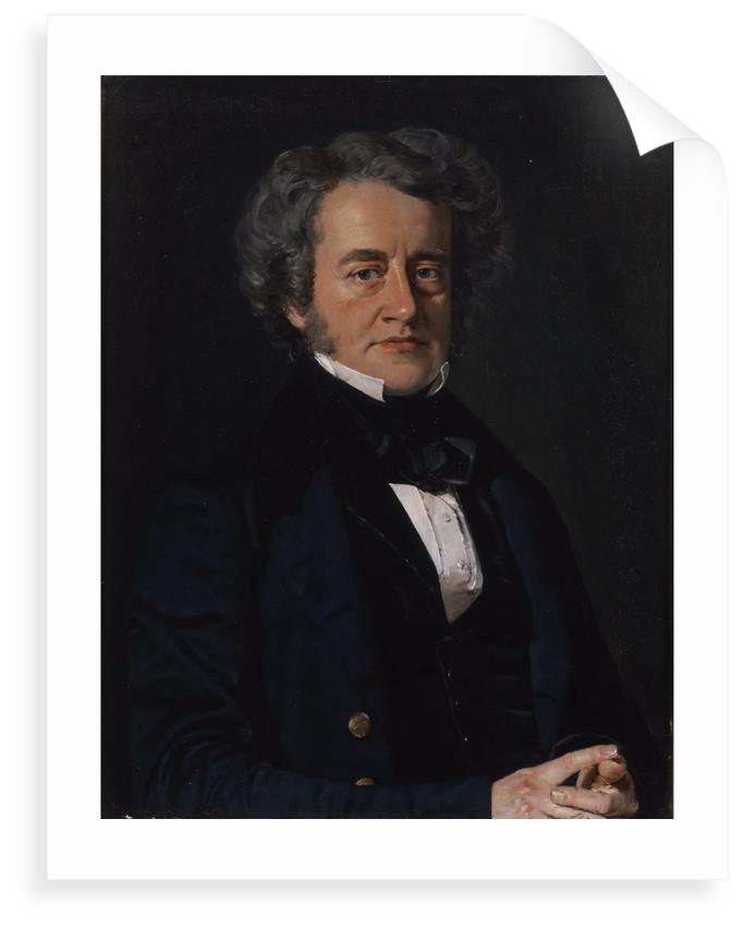 Portrait of John Frederick William Herschel (1792-1871) by Christian Albrecht Jensen
