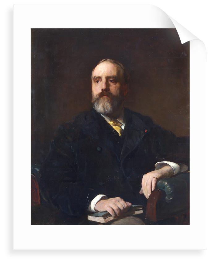 Portrait of Walter Weldon (1832-1885) by Frank Holl
