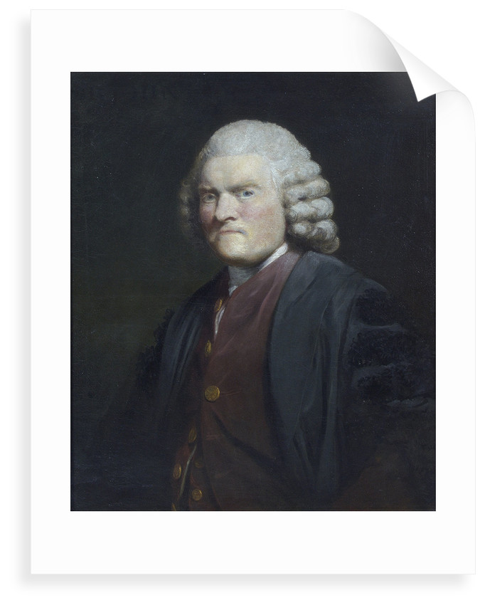 Portrait of John Pringle (1707-1782) by Joshua Reynolds