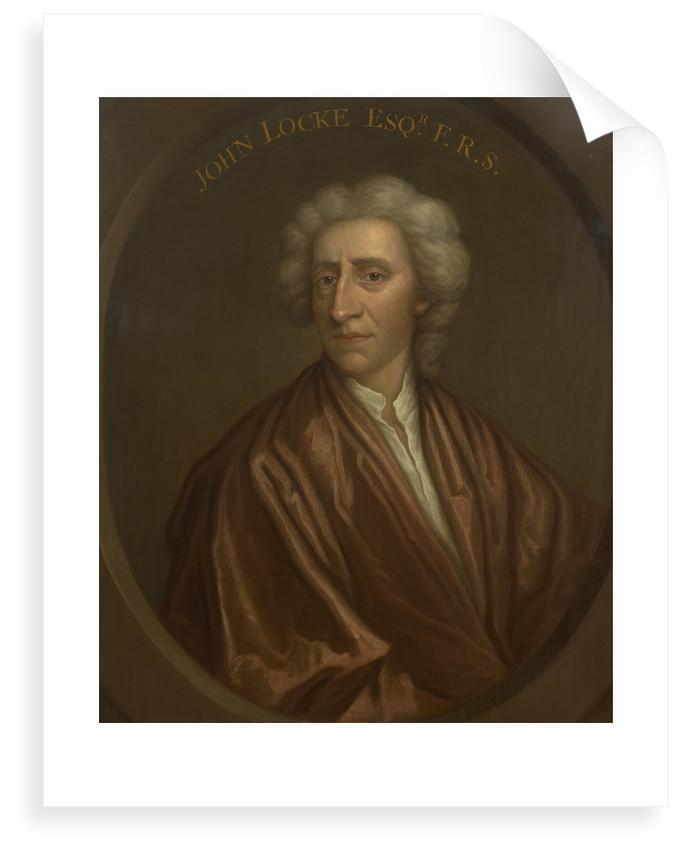 Portrait of John Locke (1632-1704) by unknown