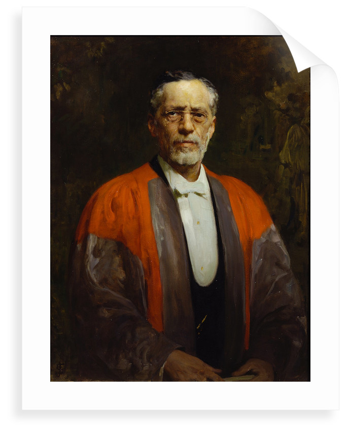 Portrait of Raphael Meldola (1849-1915) by Solomon Joseph Solomon