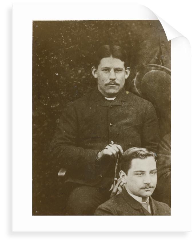 Portrait of Richard Threlfall (1861-1932) and John George Adami (1862-1926) by Alexander Scott