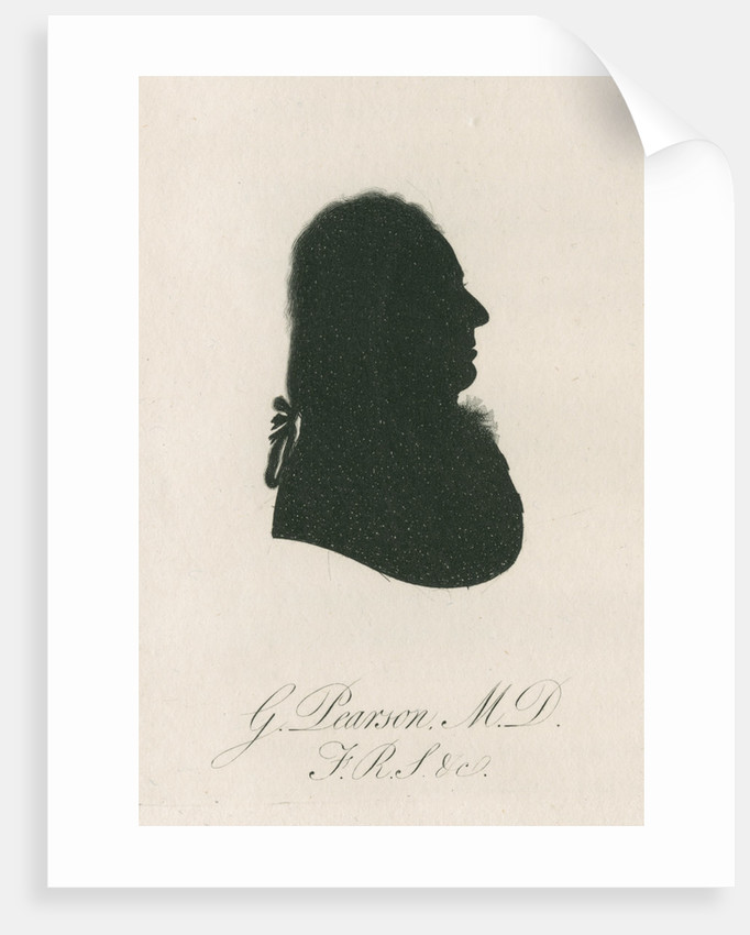 Portrait silhouette of George Pearson (d.1828) by Anonymous