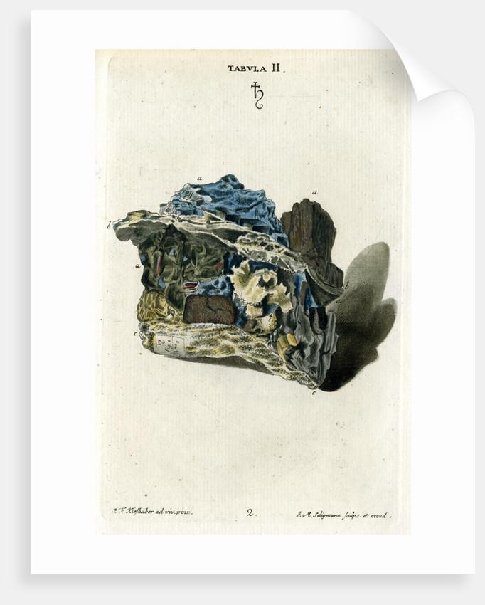 'Plumbago' (graphite) by Johann Michael Seligmann
