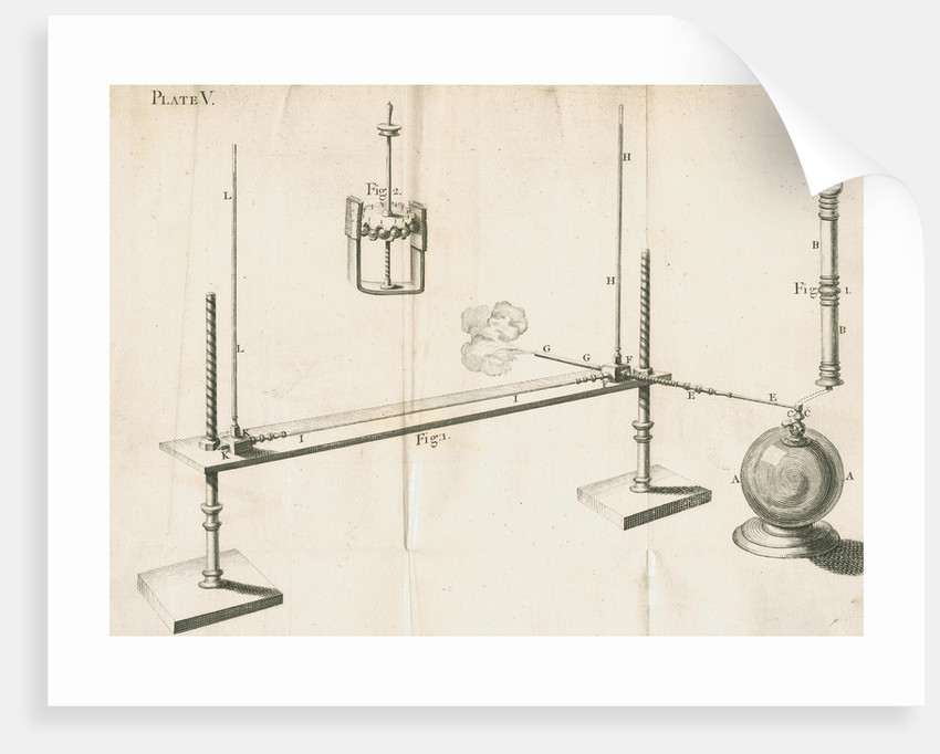 Hauksbee's experiments on barometry and attrition by unknown