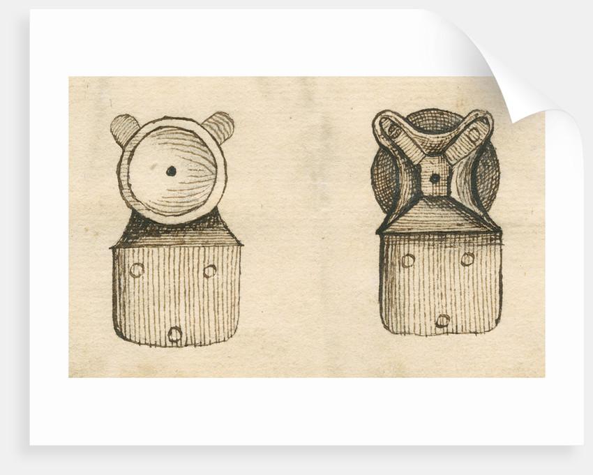Leeuwenhoek microscope by Henry Baker