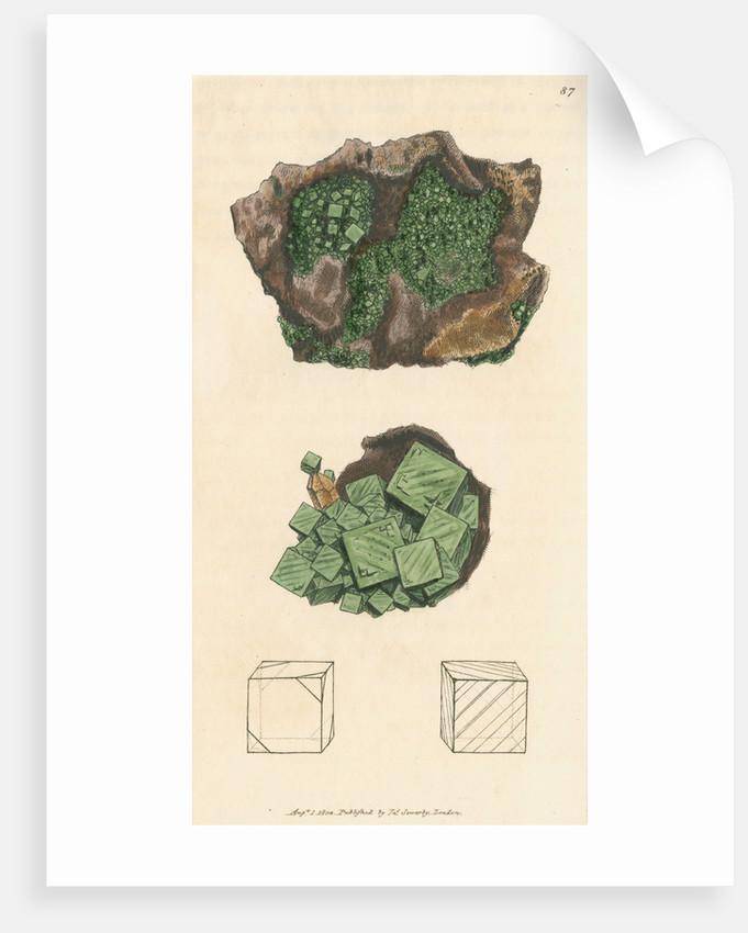 Ferrum arseniatum by James Sowerby