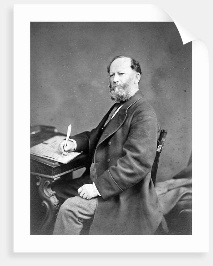 Portrait of William Yolland (1810-1885) by Maull & Fox