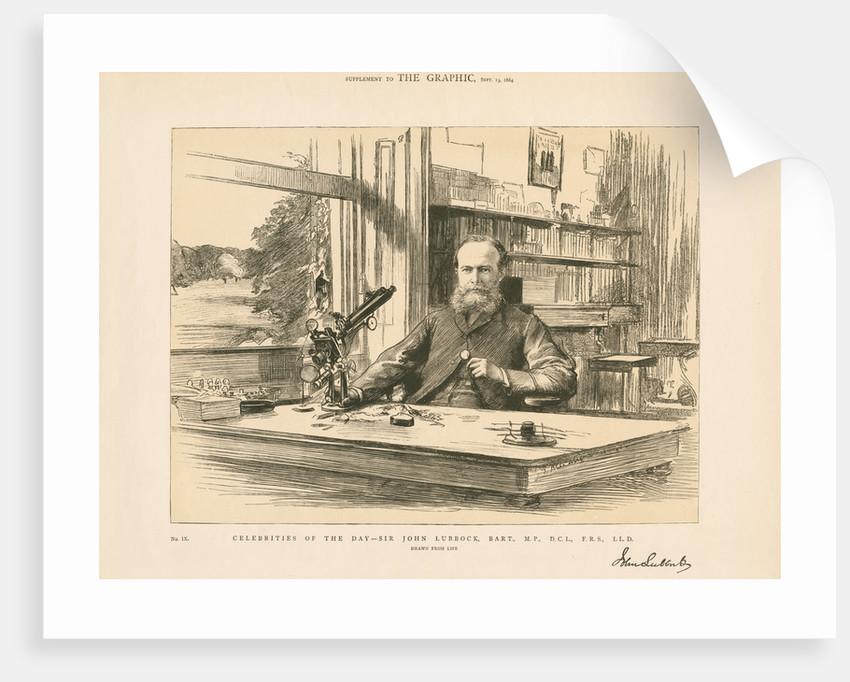 Portrait of John Lubbock, 1st Baron Avebury (1834-1913) by Anonymous
