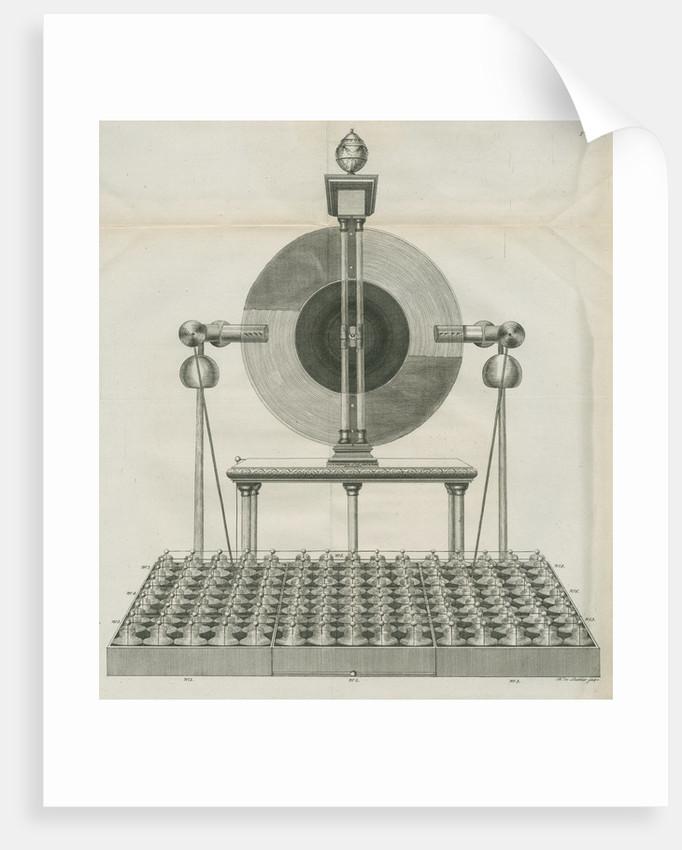 Electrical machine at Teyler's Museum by Barend de Backer