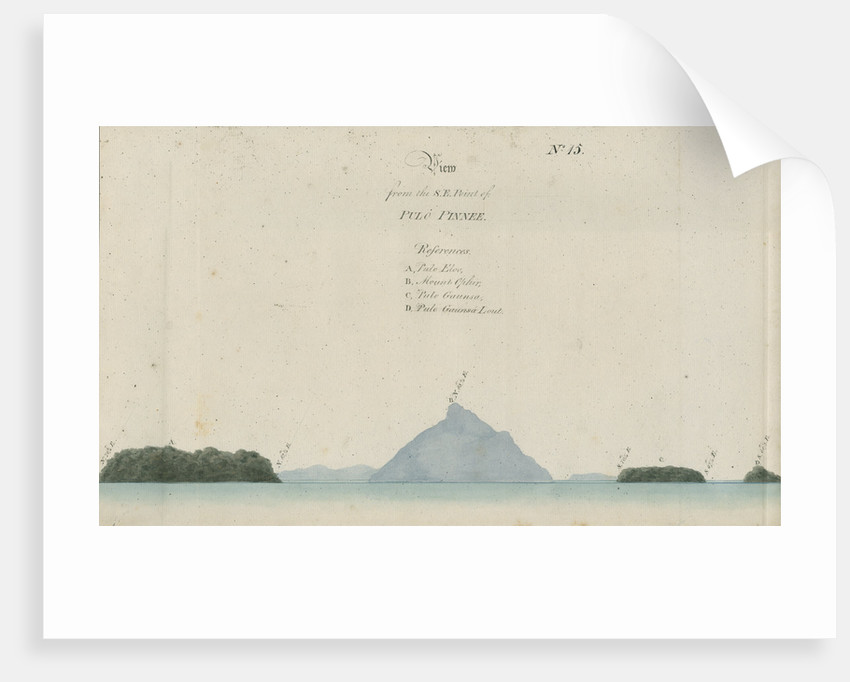 Mount Talakmau and other landmarks, Sumatra by unknown