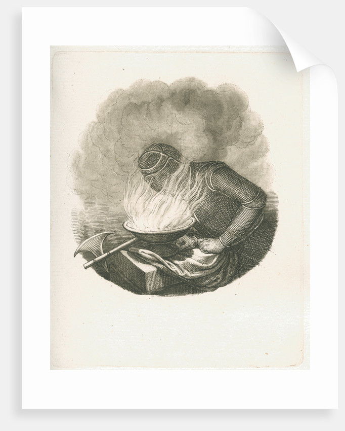 Protective mask for firemen by Unknown