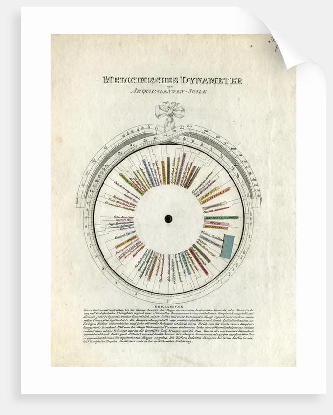 Medicinal dynameter by After John Ayrton Paris