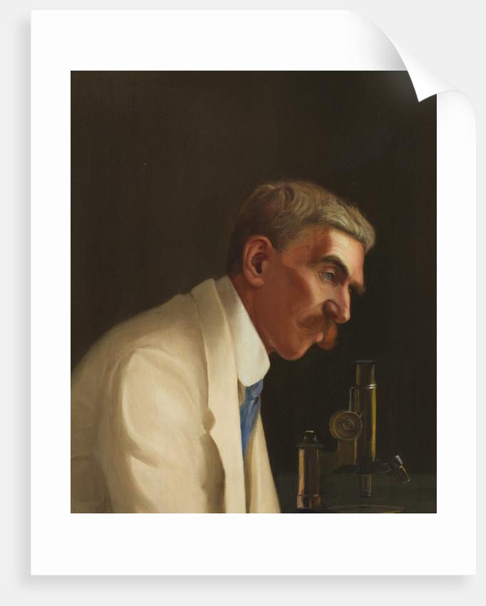 Portrait of Leonard Rogers by Richard Ernest Lloyd