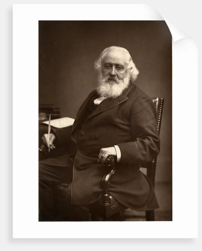 Portrait of Martin Farquhar Tupper by Elliott & Fry