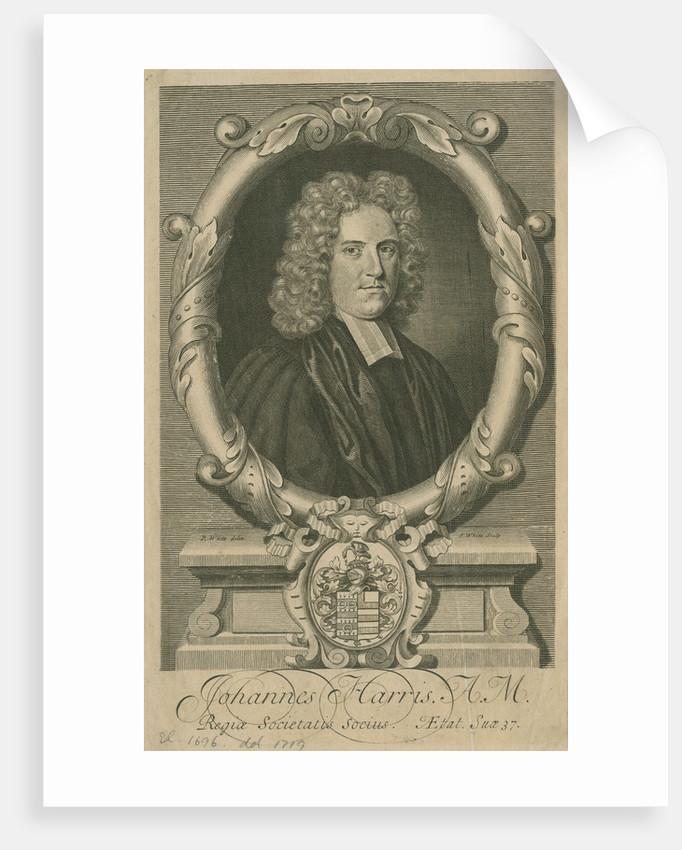 Portrait of John Harris (1661-1719) by George White