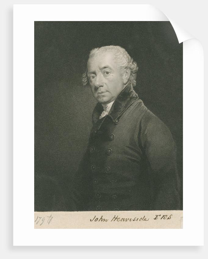 Portrait of John Heaviside (bapt. 1748-d.1828) by John Cochran