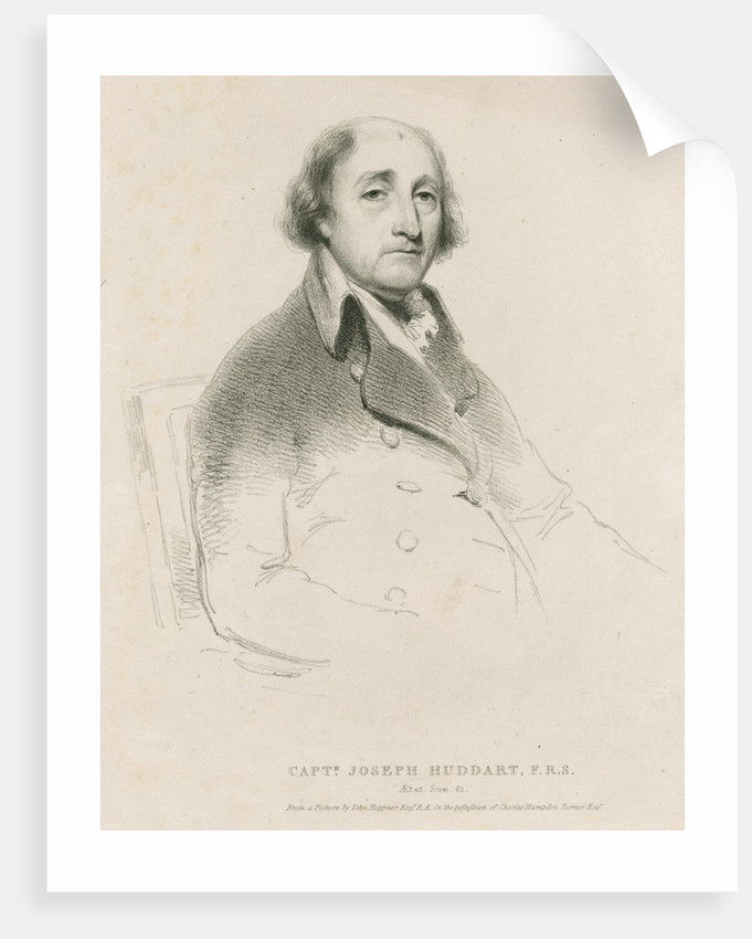 Portrait of Joseph Huddart (1741-1816) by Anonymous