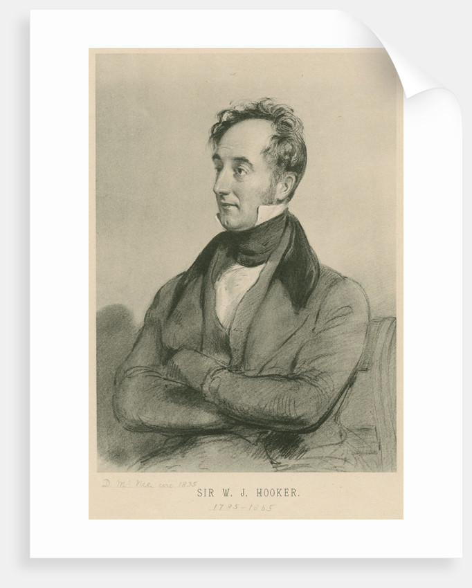 Portrait of William Jackson Hooker (1785-1865) by Anonymous