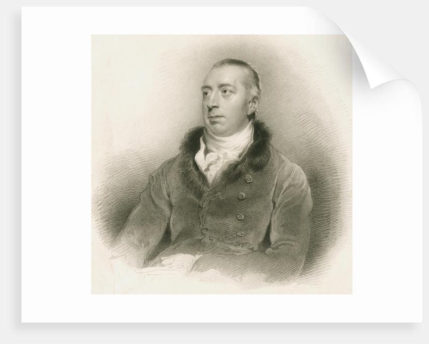 Portrait of Richard Payne Knight (1751-1824) by Edward Scriven