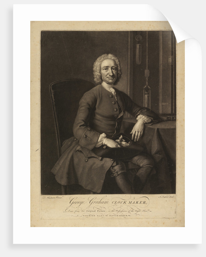 Portrait of George Graham (1673-1751) by John Faber the Younger