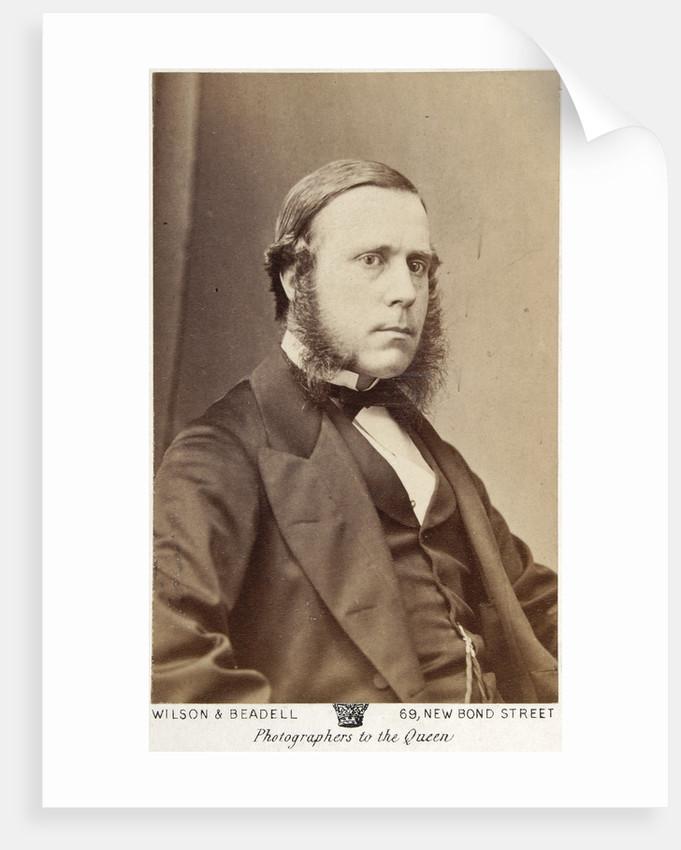 Portrait of Edward Clapton (d.1909) by Wilson & Beadell