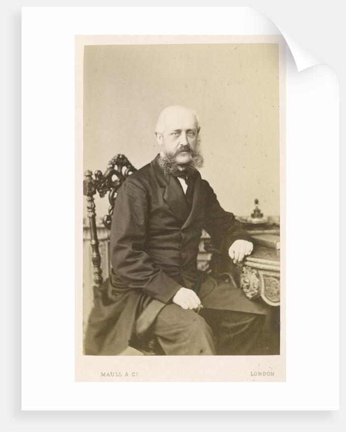 Portrait of Thomas Graham Balfour (1813-1891) by Maull & Co