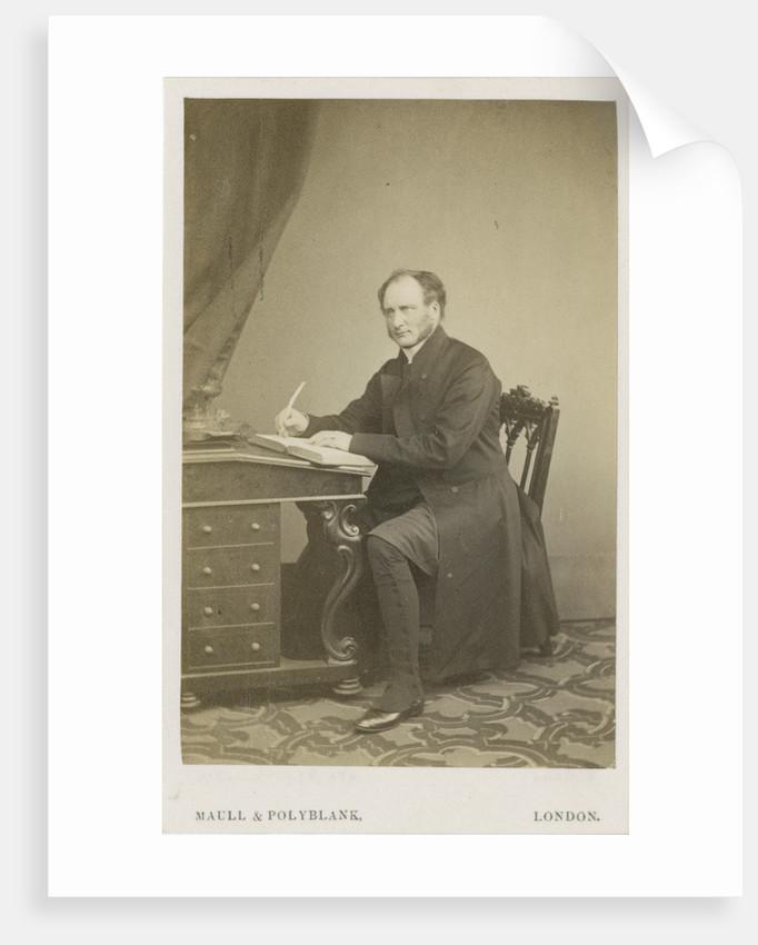 Portrait of Robert Bickersteth (1816-1884) by Maull & Polyblank