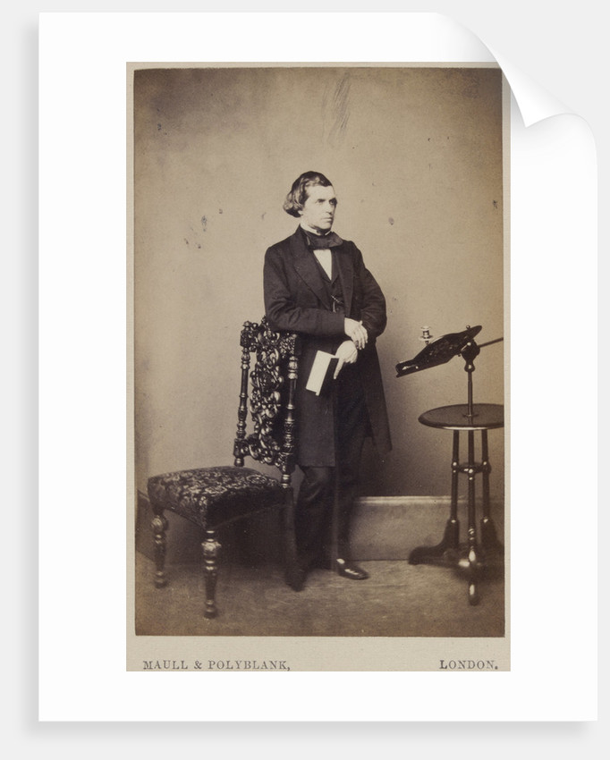 Portrait of William Bowman (1816-1892) by Maull & Polyblank