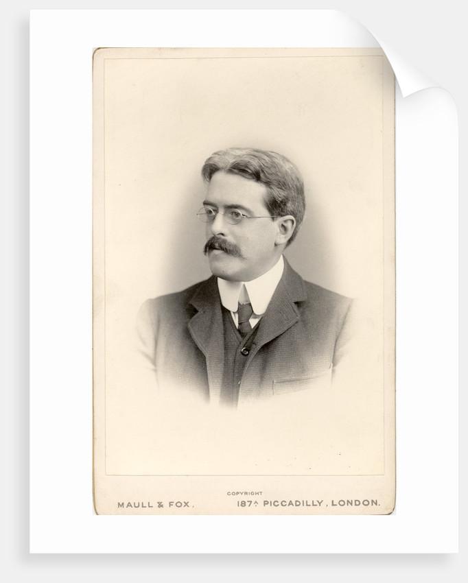 Portrait of Thomas John I'anson Bromwich (1875-1929) by Maull & Fox
