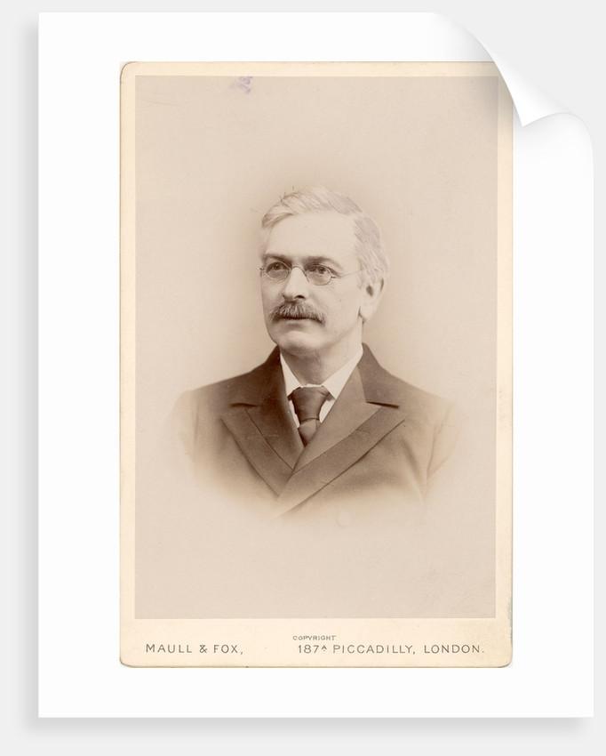 Portrait of Horace Tabberer Brown (1848-1925) by Maull & Fox